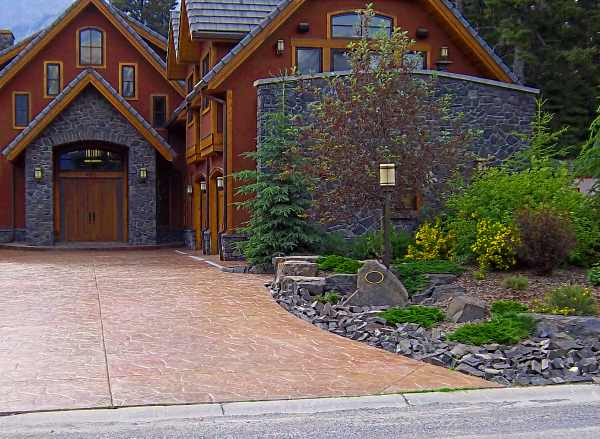 Frontyard landscaping for House garden driveway designs