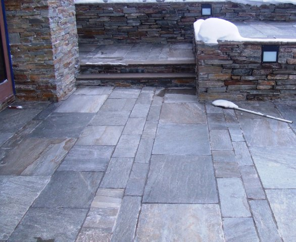 Creative pattern ideas for more cut stone.