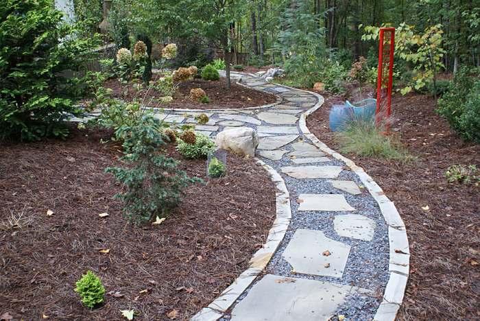 Walkway ideas for Natural stone walkways