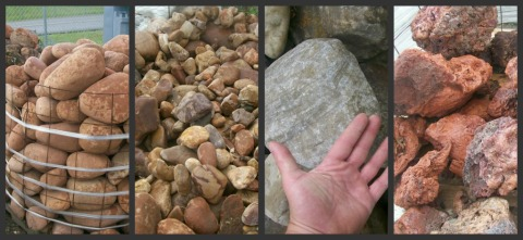 Helpful information for buying rock for your landscaping projects. It's not an item on a typical shopping list.