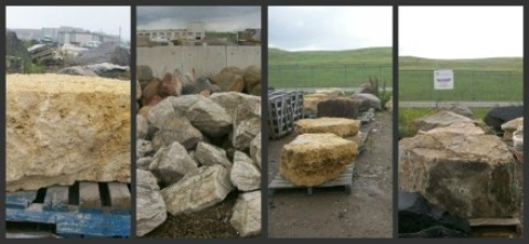 Helpful information on buying larger feature rocks and boulders.