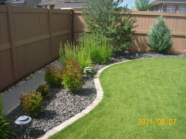 Landscaping Borders Edging on Backyard Border Ideas id=77106