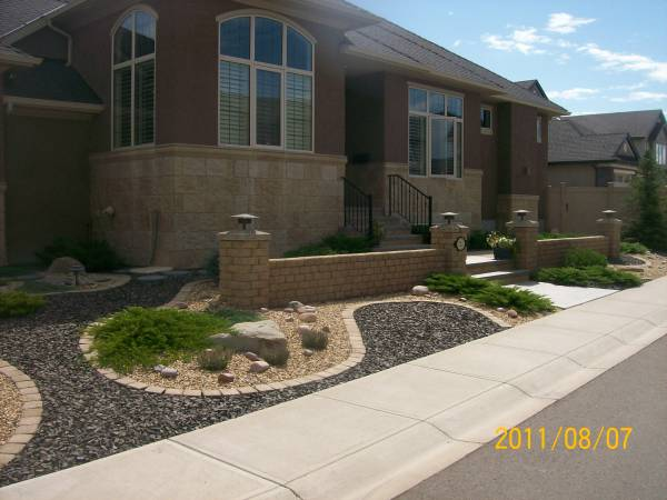 Teorema asian front yard landscaping ideas for Rock garden designs front yard