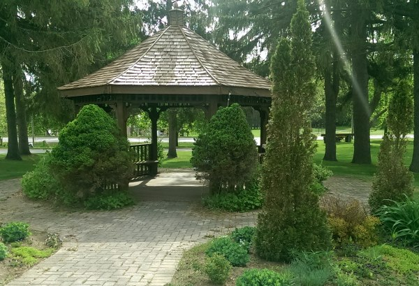 A gazebo is a great addition to any backyard. They provide shelter from the sun and the elements for a nice relaxing place to sit.