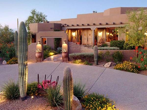 landscaping ideas dream home front yard southwest style desert
