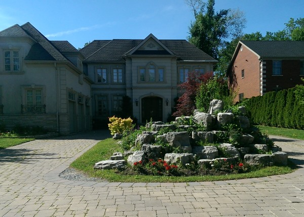 Make sure you are able to maintain what your design for your front yard.