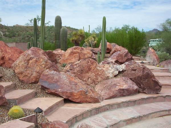 Desert rock garden ideas to give you inspiration from a well known professional Arizona landscape company.