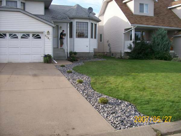 Winterkill in northern climates from snow, ice and salt down the edge of a driveway can be a losing battle.
