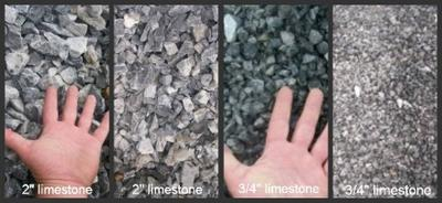 Various limestone rocks
