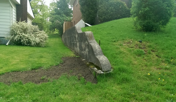 Retaining walls will fail over time if the proper preparation work is not done when they are installed.